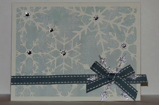 Sharon.Snowflakes Card